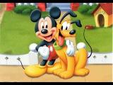 Микки Маус и Плутто Дисней мультик Мультфильм для детей