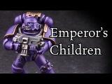How to paint Horus Heresy Emperor's Children