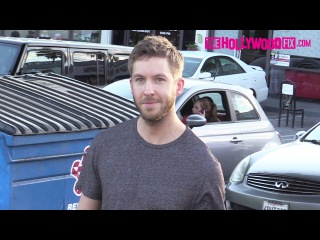 Calvin Harris Is Tight Lipped About Taylor Swift Marriage Proposal At Thai Massage Parlor 9.8.15