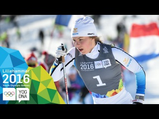 Cross-Country - Johanna Hagstroem (SWE) wins Sprint Gold | Lillehammer 2016 Youth Olympic Games
