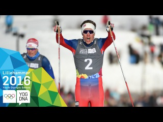 Cross-Country - Thomas Helland Larsen (NOR) wins Sprint Gold | Lillehammer 2016 Youth Olympic Games