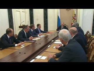 Итоги встречи глав МИД `нормандской четвёрки` обсудили на заседании Совбеза РФ - Первый канал