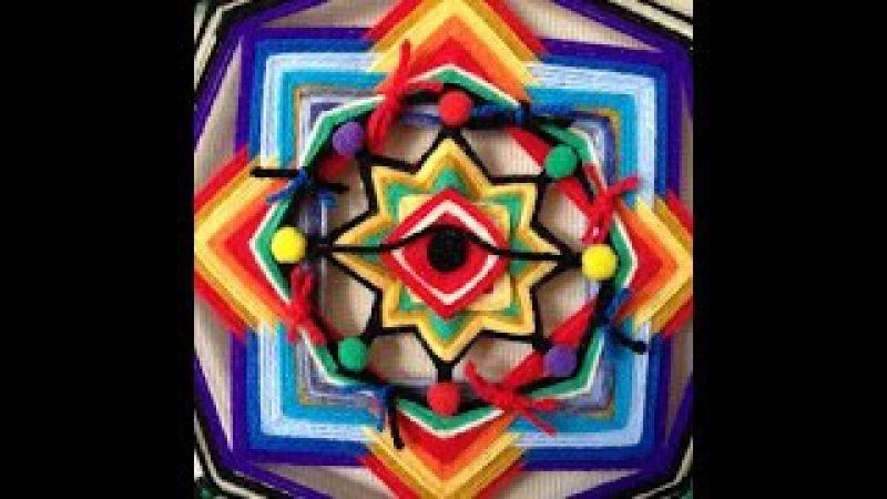 Como generar efecto de degradación Mandalas tejidos