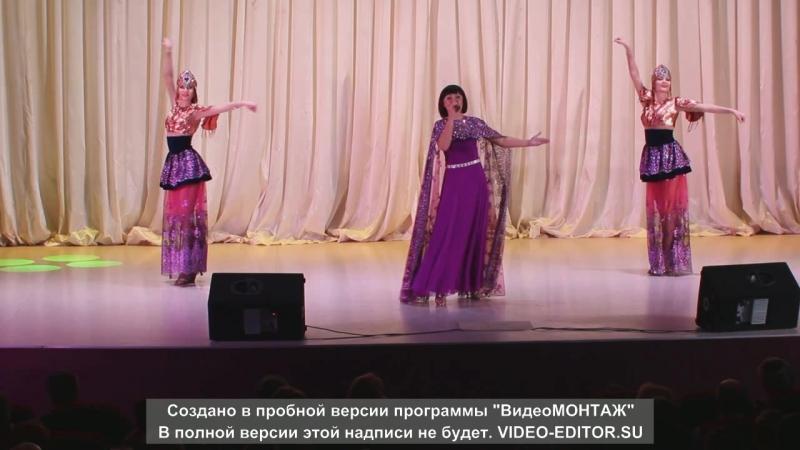Н. Шнайдер и шоу балет Мята Усть Качка 04.01. 2016