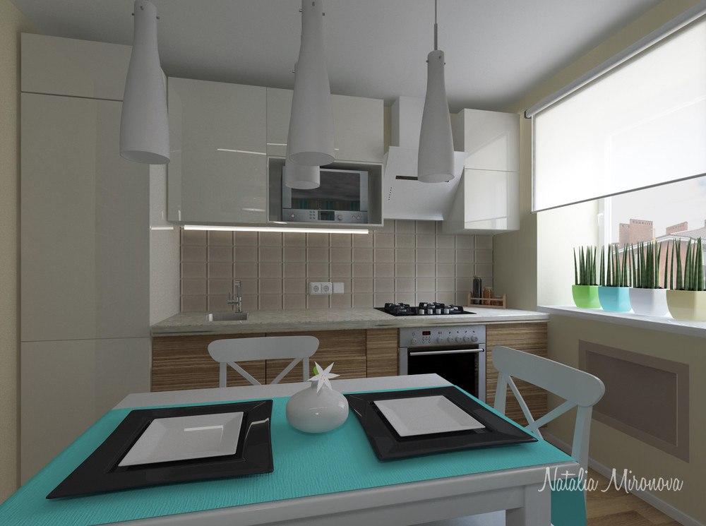 Проект квартиры 27 м.