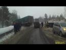 последствия ДТП на трассе М5 рядом с г.Сим, февраль 2016