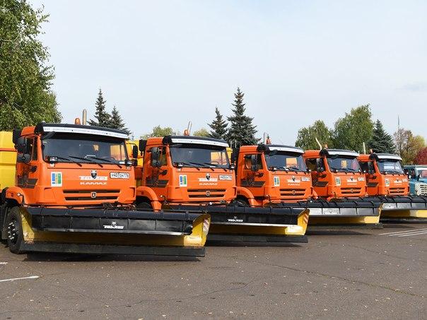 Зимой улицы Нижнекамска будут очищать 36 единиц спецтехники
