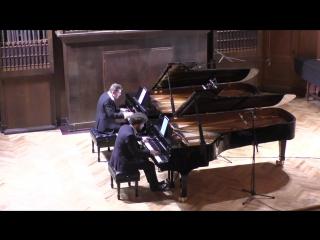 К. Дебюсси «По белым и черным», сюита для двух фортепиано Андрей Гугнин, Лукас Генюшас (фортепиано)