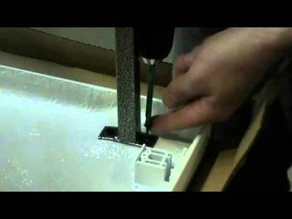 Сборка на каркас асимметричной (угловой) ванны Relisan