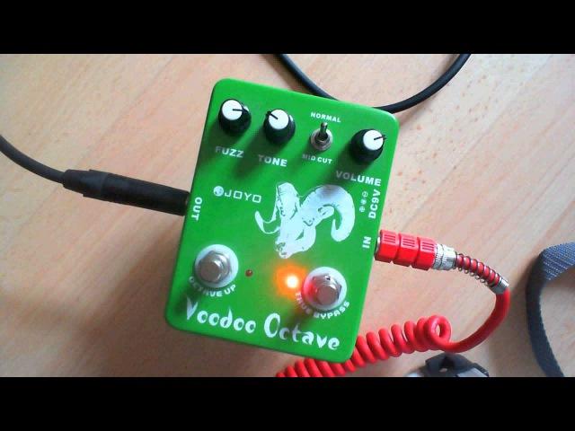 Joyo Voodoo Octave Fuzz Playthrough / Demo