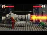 LEGO MARVEL против DC