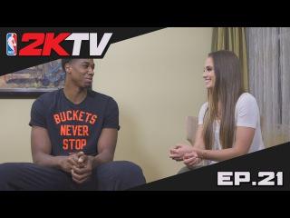 NBA 2KTV S2. Ep. 21 - Hassan Whiteside Reveals His Best Block of the Season