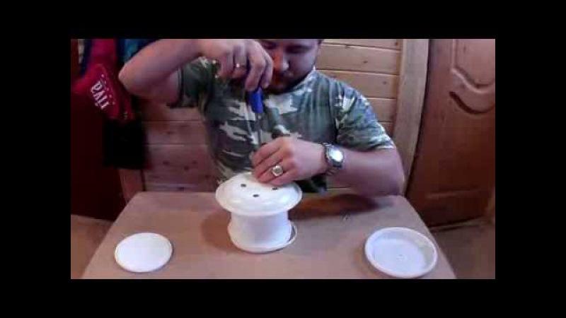 Как сделать кормушку для уток видео