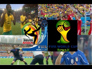 TOP 20 Goals from FIFA World Cups 2010 & 2014