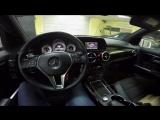 Mercedes-Benz GLK 300 Установка камеры заднего вида на штатное ГУ