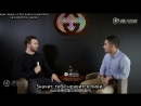 Интервью Криса для сайта «QQ Fashions» (Rus Sub)