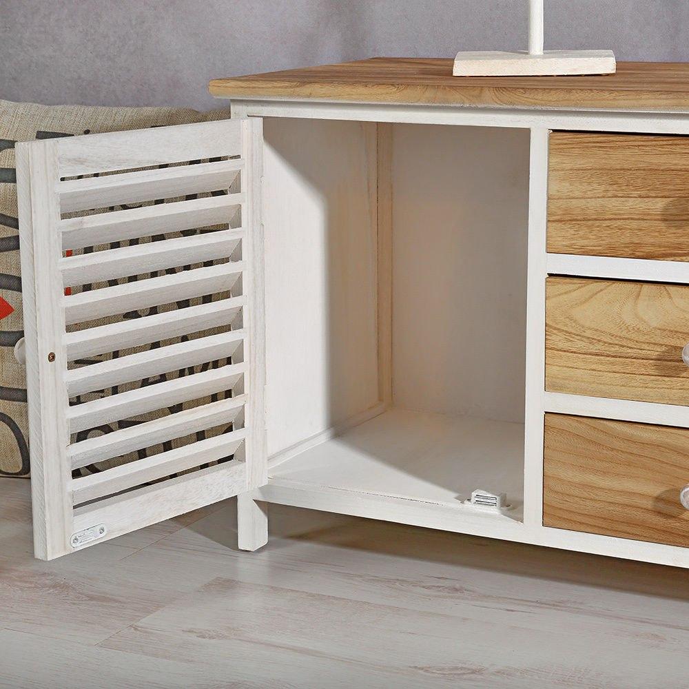 Mueble 3 cajones estanter a armario c moda banco para for Mueble cajones pequenos