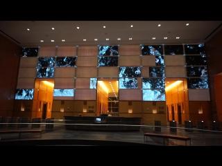 Реклама в здании ТВ и интернет провайдера.