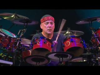 "Rush - neil peart drum solo (""snakes  arrows"" tour in holland '2008)"