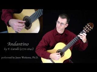 Andantino in G Major by Ferdinando Carulli -HD
