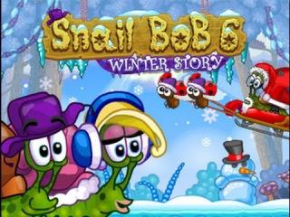 Мультик Игра Улитка Боб 6 зимняя история Развивающий мультфильм для детей
