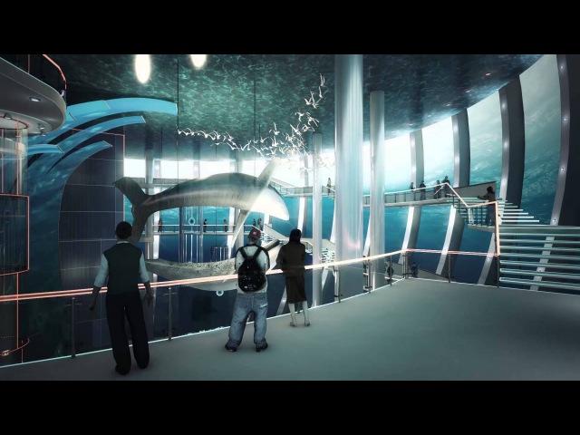 Проект нового корпуса Музея Мирового океана в Калининграде