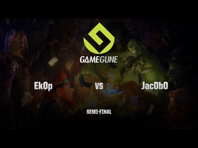 [RU] Jac0b0 vs Ek0p | GameGune 2015 | Semi-Final