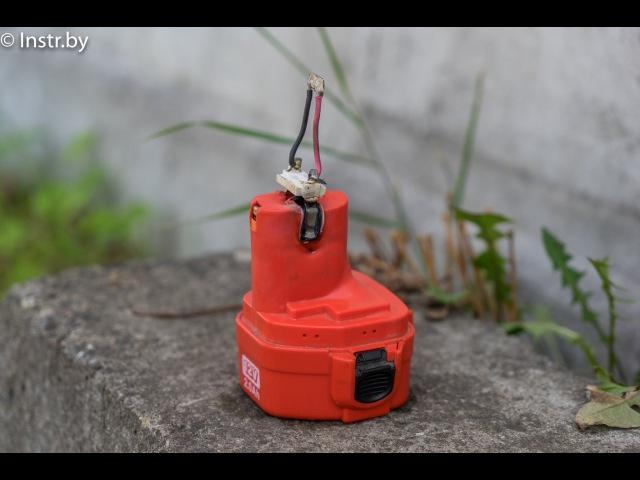 Короткое замыкание аккумулятора Makita 12V NiCd - взорвется или не взорвется?