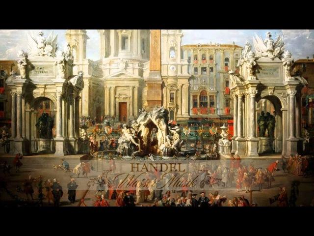 G.F. Händel: Water Musick in Seven Parts HWV 348, 349, 350 [Zefiro-A.Bernardini]