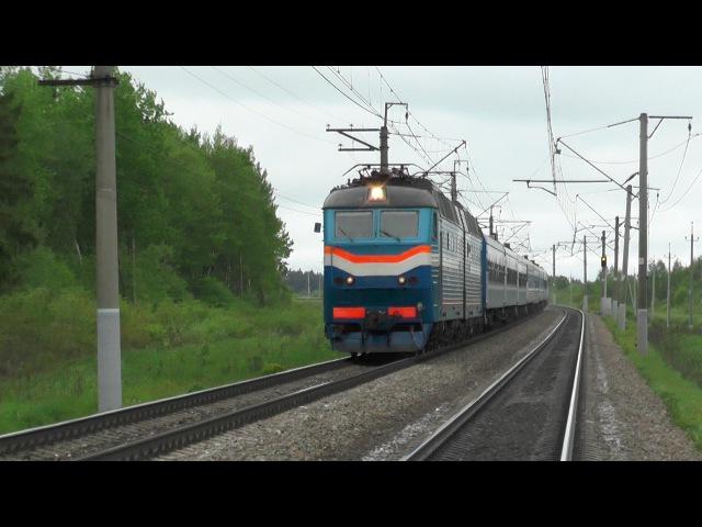 Электровоз ЧС7-011 с поездом № 076 Гомель - Москва