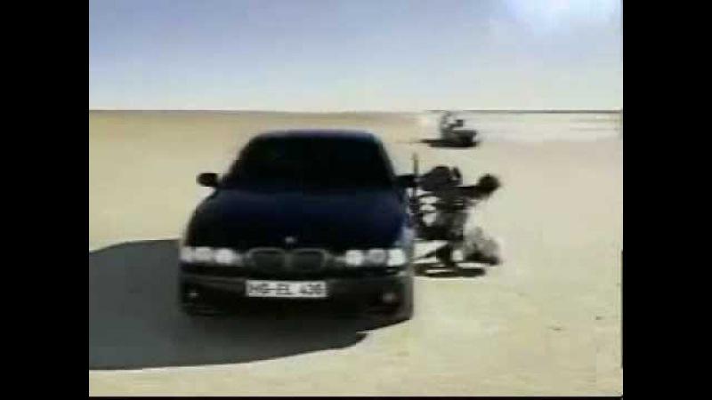 Реклама BMW M5 - Сверхскорость