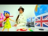 Видео уроки для детей. Великобритания. Great Britain: Модная география