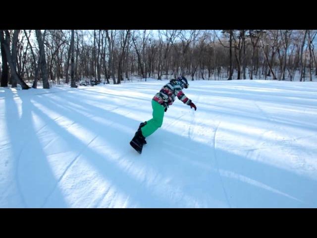 Школа сноуборда Урок 8 трюки на вращение на склоне