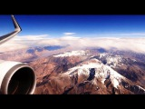 LAN Chile Boeing 767-300ER - spectacular flight across South America and the Andes