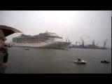 """Капитан Лайнера, Большой Любитель """"Queen"""". Cruise Ship Captain is a Big Fan of the """"Queen""""."""