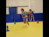 """Bball & Performance Training on Instagram: """"Одно из упражнений на развитие реакции и быстрого первого шага, которое мы выполняли с девочками из Санкт-Петербурга. Добавление двух…"""""""