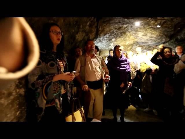 Здесь возрастал Иоанн Креститель Потаенная пещера Иоанна и гробница праведной Елизаветы
