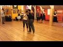 Sebastián Achaval and Roxana Suarez - Caminata, argentine tango lesson (2014 Riga Tango Fiesta, LV)