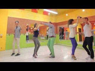 Школа танцев_ Бачата 4 урок
