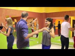 Школа танцев_ Бачата 3 урок