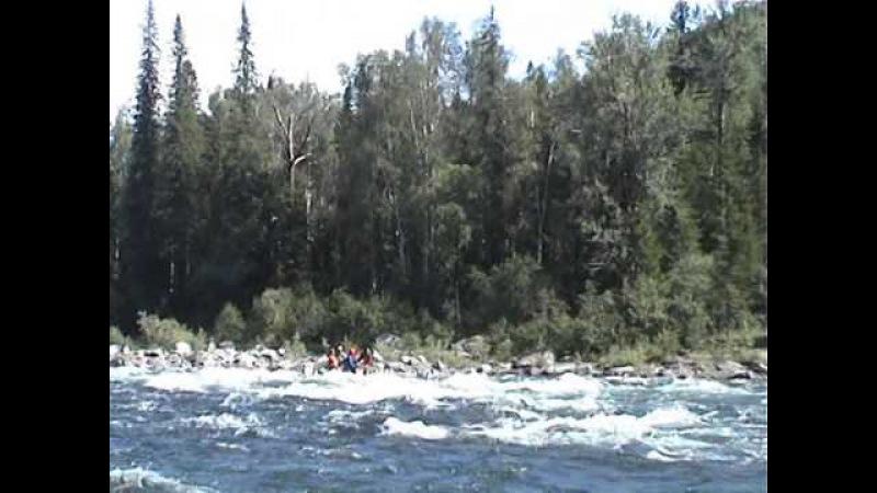 Копия видео Прохождение Саянского казыра на деревянном плоту