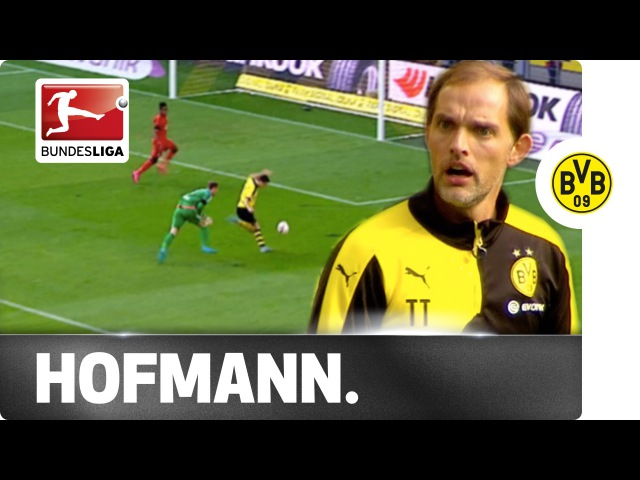 Dortmund's Hofmann Gets a Telling-Off Before Opening the Scoring