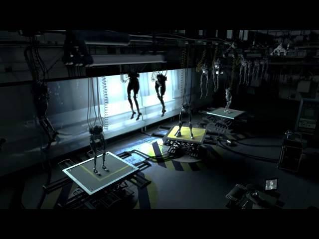 Davind Finchers best ads Adidas - Mechanical Legs (2002)