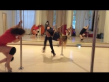 Daria Che exotic pole dance
