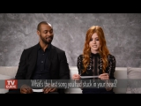 The Shadowhunters Cast Shares Their Social Media Obsessions