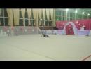 "Кащук Александра, мяч ""Принцесса лебедь 2015"""