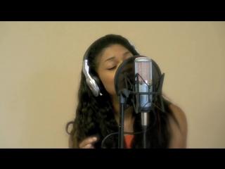 Whitney Houston - I Have Nothing (Cover) божественный голос, шикарное исполнение, девушка с красивым голосом, нереальный голос