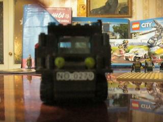 Лего самоделки. Военный грузовик