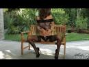 Pantyhose, Nylon, Silk Fetish ∞ Malena Morgan (Art-Lingerie) няшка в чулках и в сетке на теле, стриптиз, play boy, эротика,белье