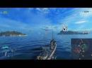 """World of Warships """"Как стрелять без засвета. Хитрости механики #8 (умнв)"""""""